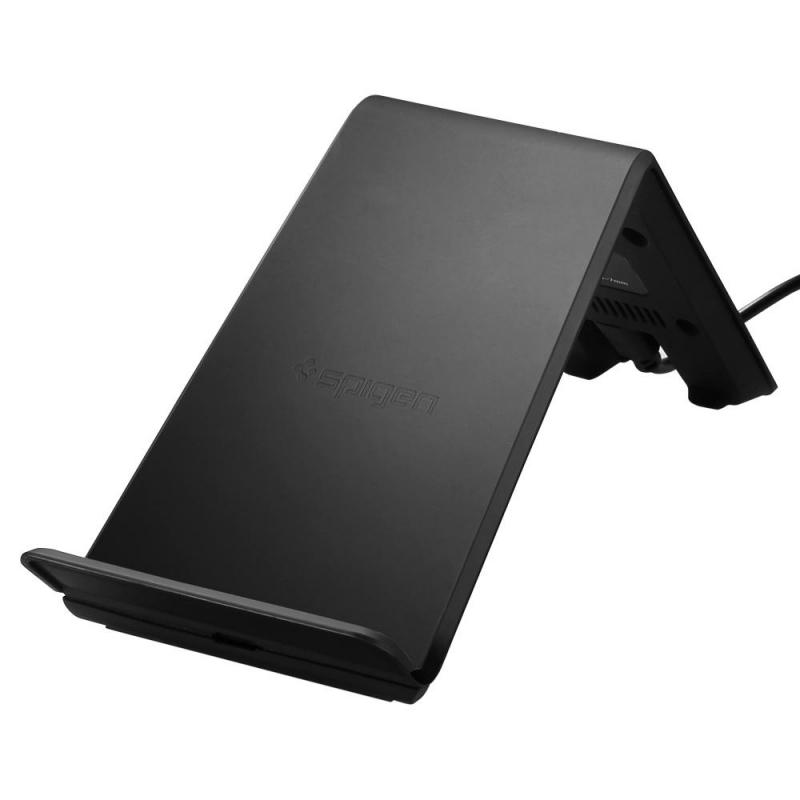 Spigen - Essential F303W bezdrôtový nabíjací stojan