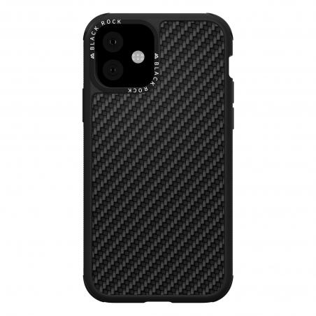 Puzdro Black Rock Robust Case Real Carbon pre iPhone 11, čierne