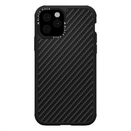 Puzdro Black Rock Robust Case Real Carbon pre iPhone 11 Pro, čierne