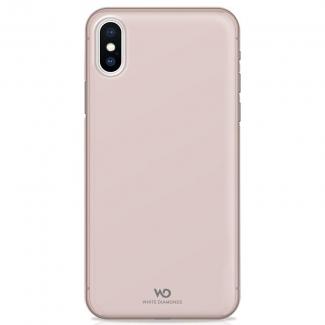 Puzdro White Diamonds Ultra Thin Iced Case pre iPhone XS / X, ružovo-zlatý
