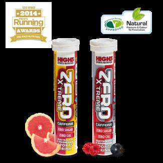 High5 Zero Xtreme Caffeine tabs - 20ks hydratačných tabliet