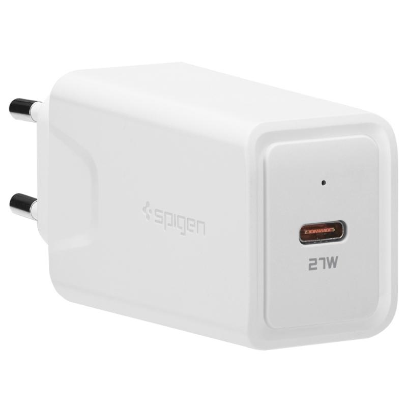 Spigen Essential USB-C Wall Charger F210EU - 27W rýchla nabíjačka