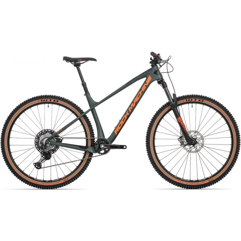 Rock Machine Blizz CRB 50-29, model 2020, khaki/oranžová/čierna
