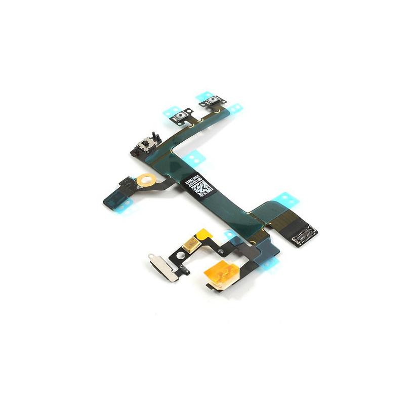 Flex kábel pre tlačidlá hlasitosti, vypínania a vibračné pre iPhone SE