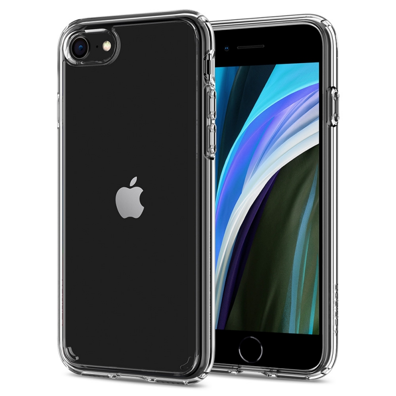 Púzdro Spigen Ultra Hybrid 2 iPhone SE (2020) / 8 / 7, transparenté
