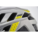 Prilba HQBC DIRTZ šedá/žltá, veľ. 52-58cm