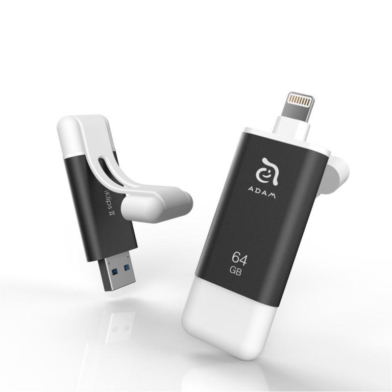 Adam Elements iKlips II flash disk s Lightningom - 64GB