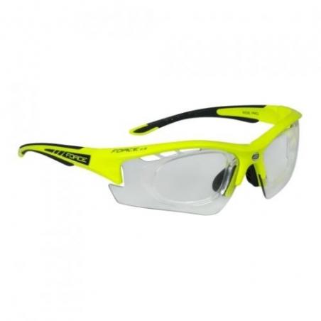 Okuliare FORCE Ride Pro Fluo diop.klip, fotochromatické sklá