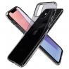 Puzdro SPIGEN Liquid Crystal iPhone 11- priesvitné čierne