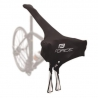 FORCE kryt lycra na prepravu bicykla čierny