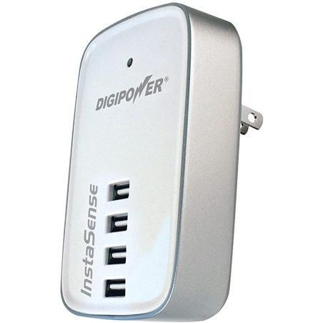 Digipower 4 Port USB Charger, Biely