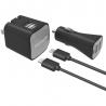 Sada - DIGIPOWER Dual USB nabíjačka a Inteligentná USB autonabíjačka