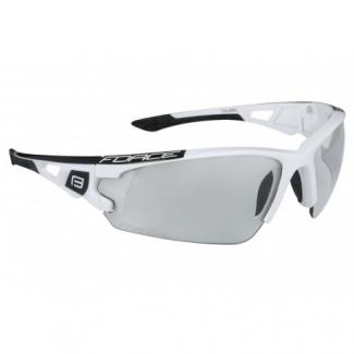 FORCE okuliare CALIBRE, biele, fotochromatické sklá