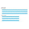 Tretry Shimano SHXC501, modré