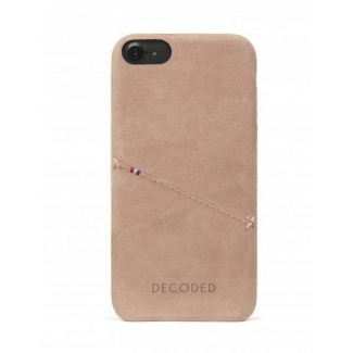 Púzdro Decoded Leather Case pre iPhone 6, 6S, 7, 8, SE (2020) - Rose