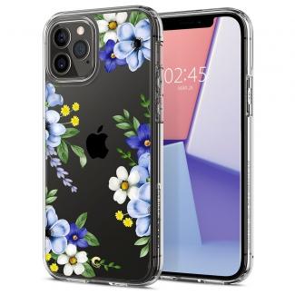 Puzdro SPIGEN Cecile, bloom iPhone 12/12 Pro - priesvitné