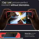 Púzdro Spigen Ultra Hybrid iPhone 12/12 Pro červeno-priesvitné