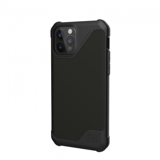 UAG Metropolis LT, SATN black obal pre iPhone 12/12 Pro