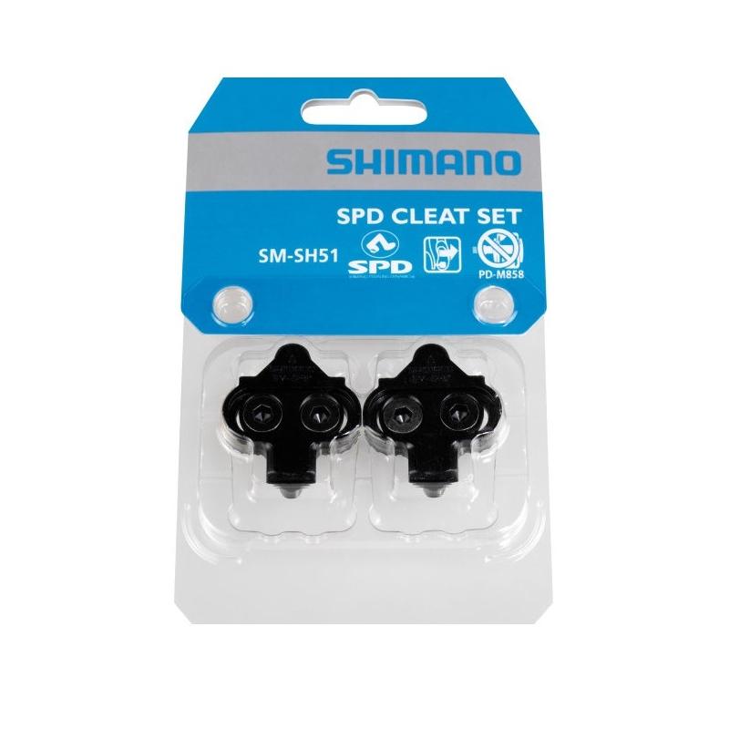 Zarážky Shimano SM-SH51 SPD, čierne