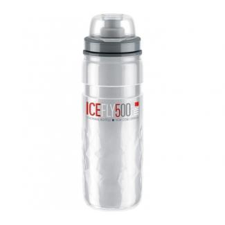 Elite fľaša ICE FLY Termo 500ml 2,5 hod, transparentná
