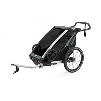 Detský vozík THULE Chariot Lite 1, šedý (2021)