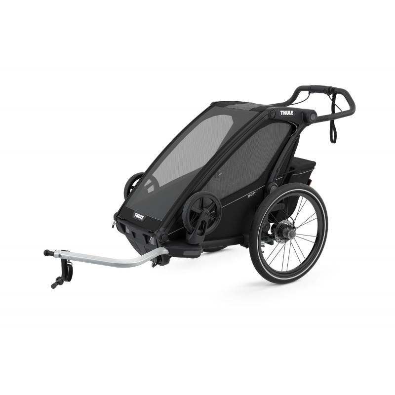 Detský vozík THULE Chariot Sport 1 (2021), čierny