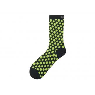 Ponožky Shimano Original Tall, čierno-žlté