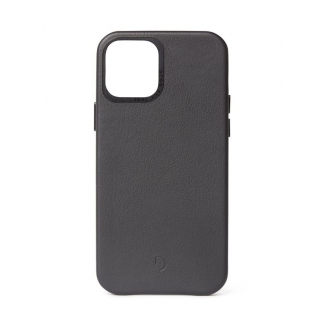 Púzdro Decoded Leather BackCover pre iPhone 12 mini- čierne