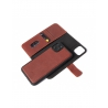 Púzdro Decoded  Leather Detachable Wallet pre iPhone 11 Pro - hnedé