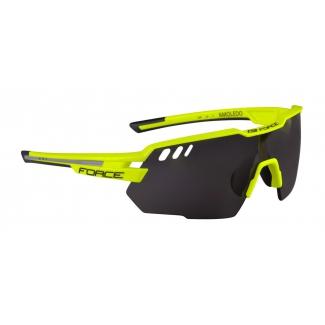 FORCE okuliare AMOLEDO, fluo-šedá, čierne sklá