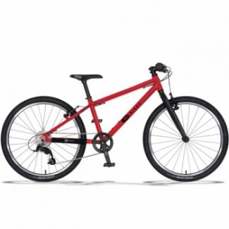 KUbikes 24L MTB detský bicykel, červený