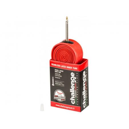 Challenge Latex cestná/gravel/cx duša 700x29-38c, galuskový ventil