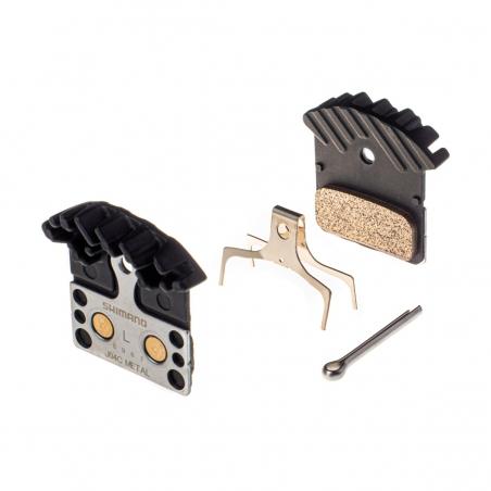 Shimano J04C brzdové platničky metalické s chladičom