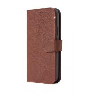 Púzdro Decoded  Leather Detachable Wallet pre iPhone 12 Mini - hnedé