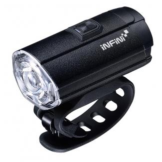 Svetlo predné INFINI TRON 300 6f čierne USB