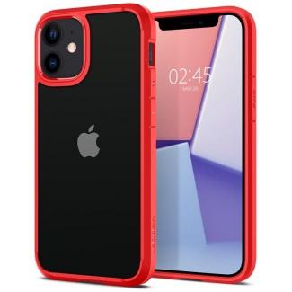 Púzdro Spigen Ultra Hybrid iPhone 12 mini červeno-priesvitné