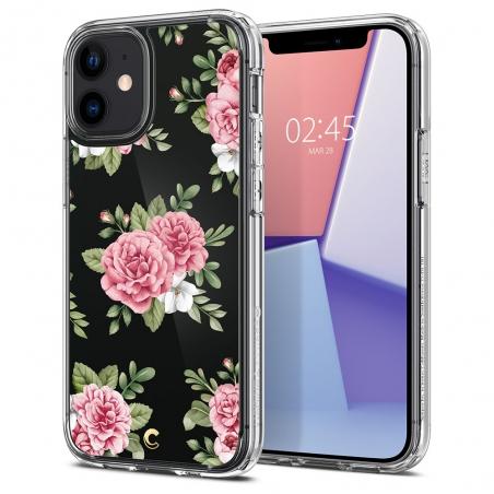 Púzdro Spigen Cecile pink iPhone 12 / 12 Pro